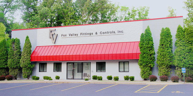 The Fox Valley Fittings & Controls building in Neenah, WI