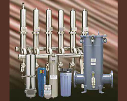 Steam & Sterile Air Filters offered at Fox Valley Fittings & Controls, Neenah, WI USA