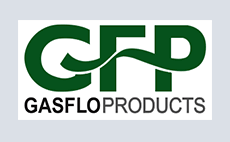 Logo for GFP, GasFlo Products